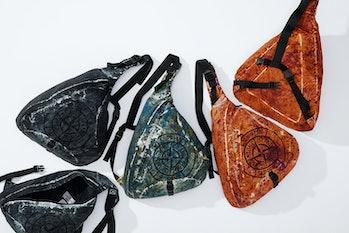 Stone Island Supreme Crinkle Shoulder Bag