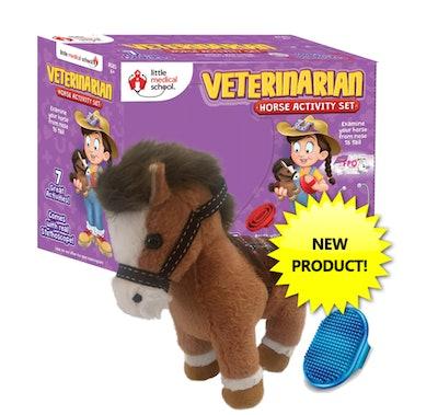 Veterinarian Horse Activity Set