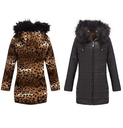 Bellivera Double-Sided Faux Fur Jacket