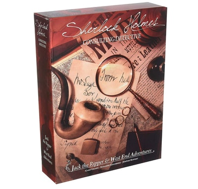 Sherlock Holmes Consulting: Detective Jack the Ripper & West End Adventures Strategy Board Game