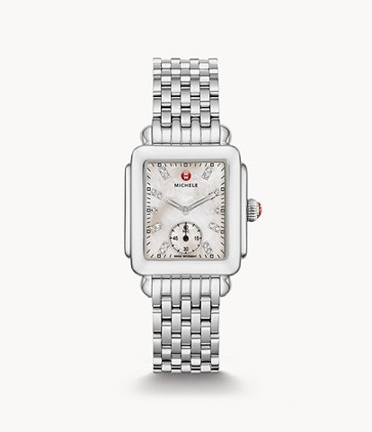 Deco Mid, Diamond Dial Watch