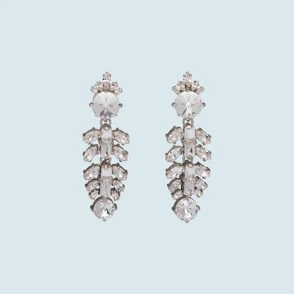 Pendant Crystal Earrings