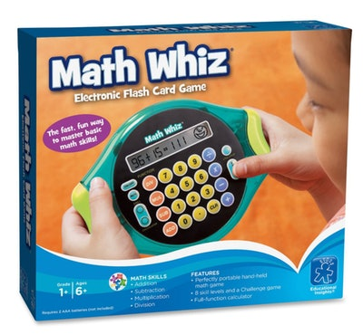 Educational Insights Math Whiz Electronic Flash Card Game