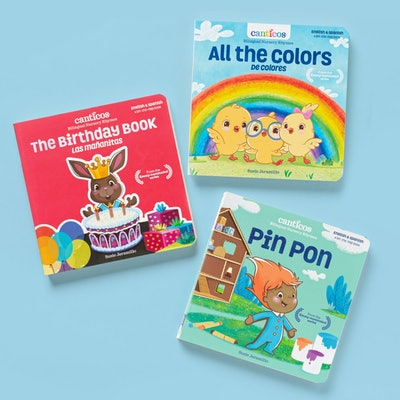 Bilingual Nursery Rhymes Collection Bundle by Canticos