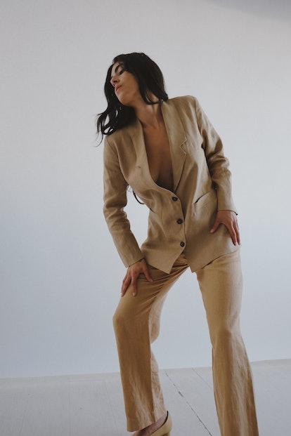 Linen Flo Jacket