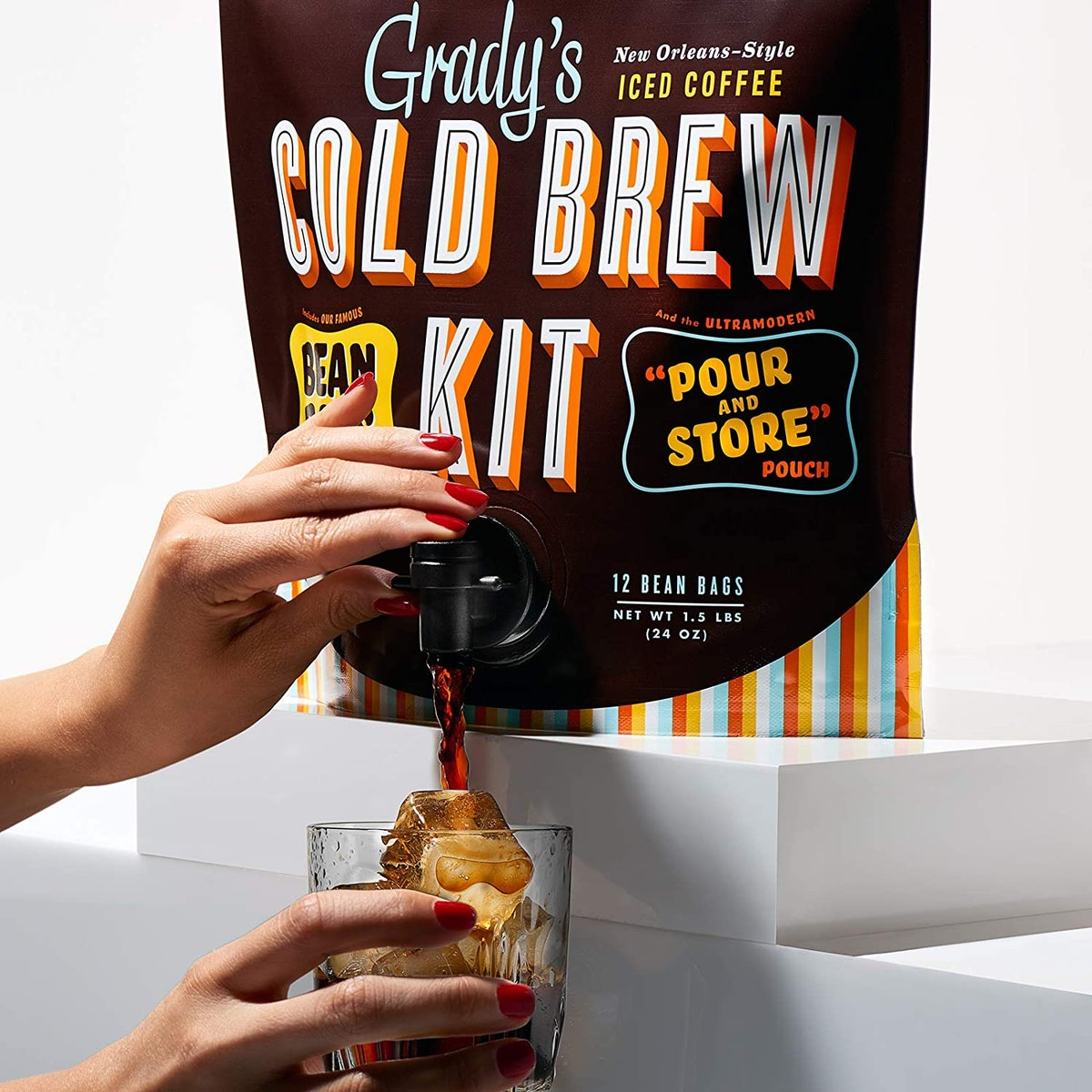 Grady's Cold Brew Iced Coffee Kit