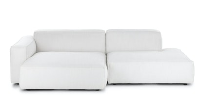 Solae Chill White Left Sectional