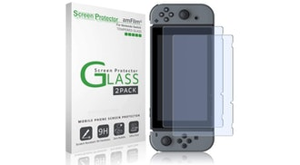 amFilm Tempered Glass Screen Protector (2-pack)