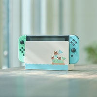 Nintendo Switch Animal Crossing edition is an adorable indulgence
