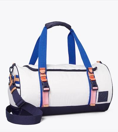 Ripstop Nylon Color-Block Duffle Bag