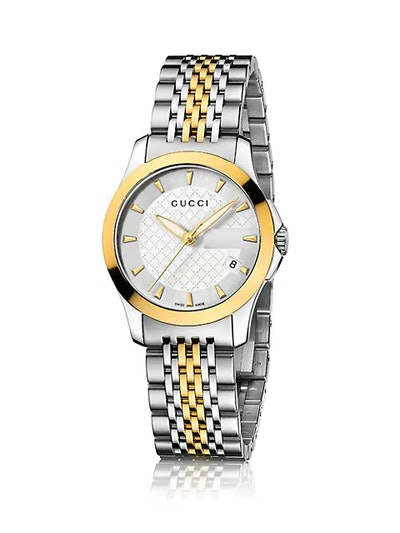 G-Timeless Two-Tone Stainless Steel Bracelet Watch
