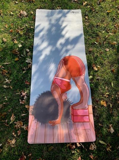 Peace Of Cake Yoga Mat