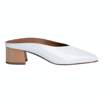 Patent Leather Mules