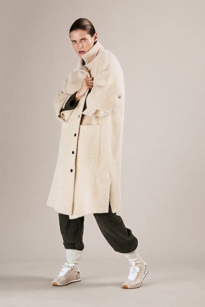 Faux Fur Oversized Coat