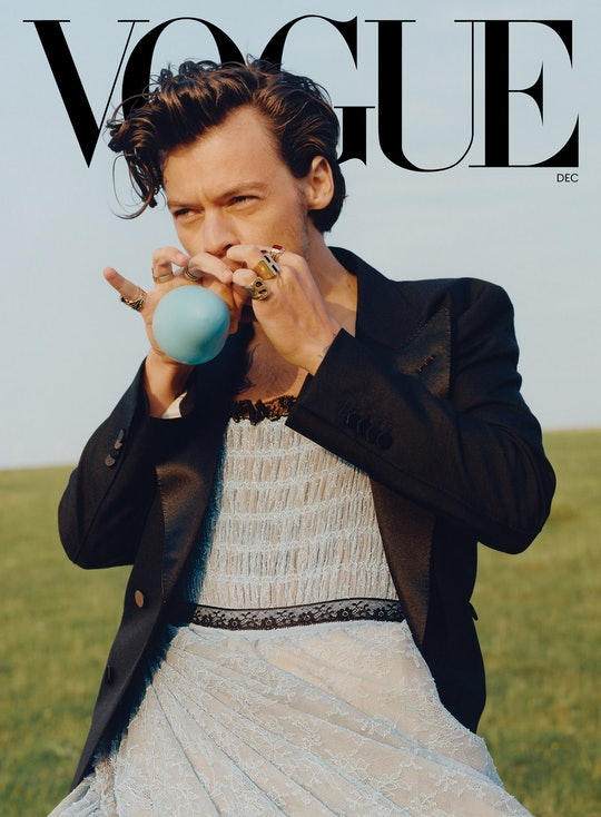 Harry Styles was criticized for his 'Vogue' cover.