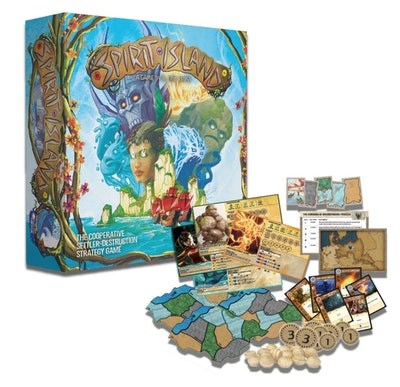 Greater Than Games: Spirit Island  Board Game