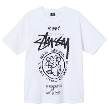 Marc Jacobs Stüssy 40th Anniversary T-shirt