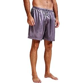 Lonxu Satin Pajama Boxers