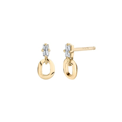 XS Link And Baguette Studs