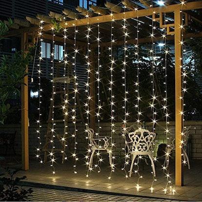 Twinkle Star Curtain Lights