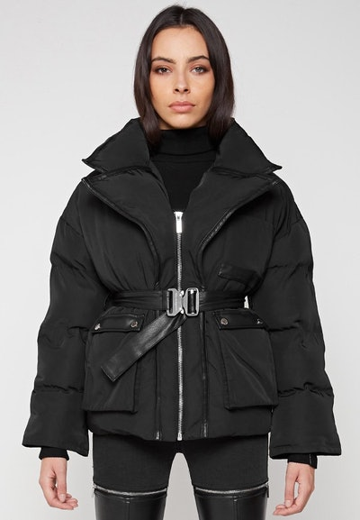 Blazer Puffer Jacket