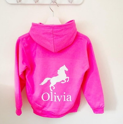 Personalized Horse Hoodie For Kids