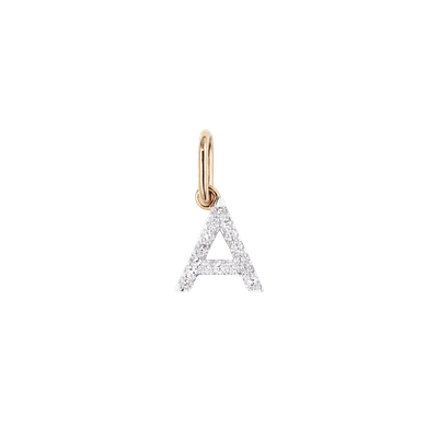 Diamond Letter Pendant