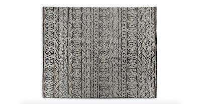 Mali Dark Gray Fleck Rug 8 x 10