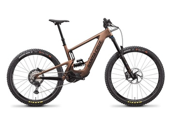 Santa Cruz's new Bullit MX electric mountain bike is designed to take a beating.