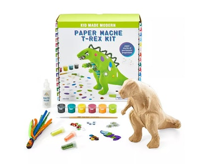 Kid Made Modern Paper Mache T-Rex Kit