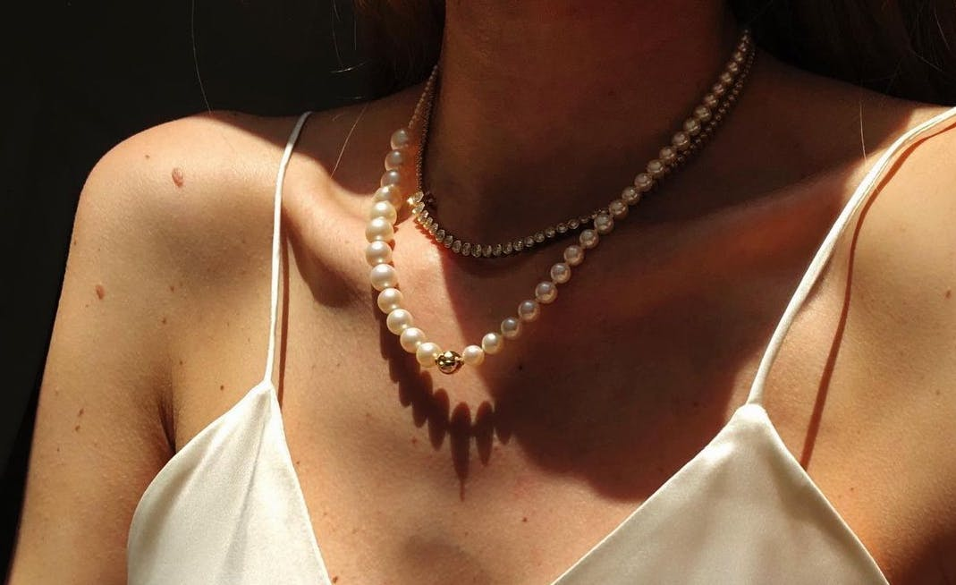 A Diamond Tennis Necklace Is The Classic Jewelry Trend I Can T Stop Thinking About