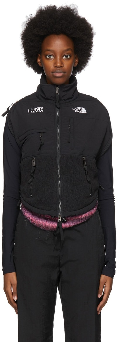 Black The North Face Edition Fleece Circle Sweater