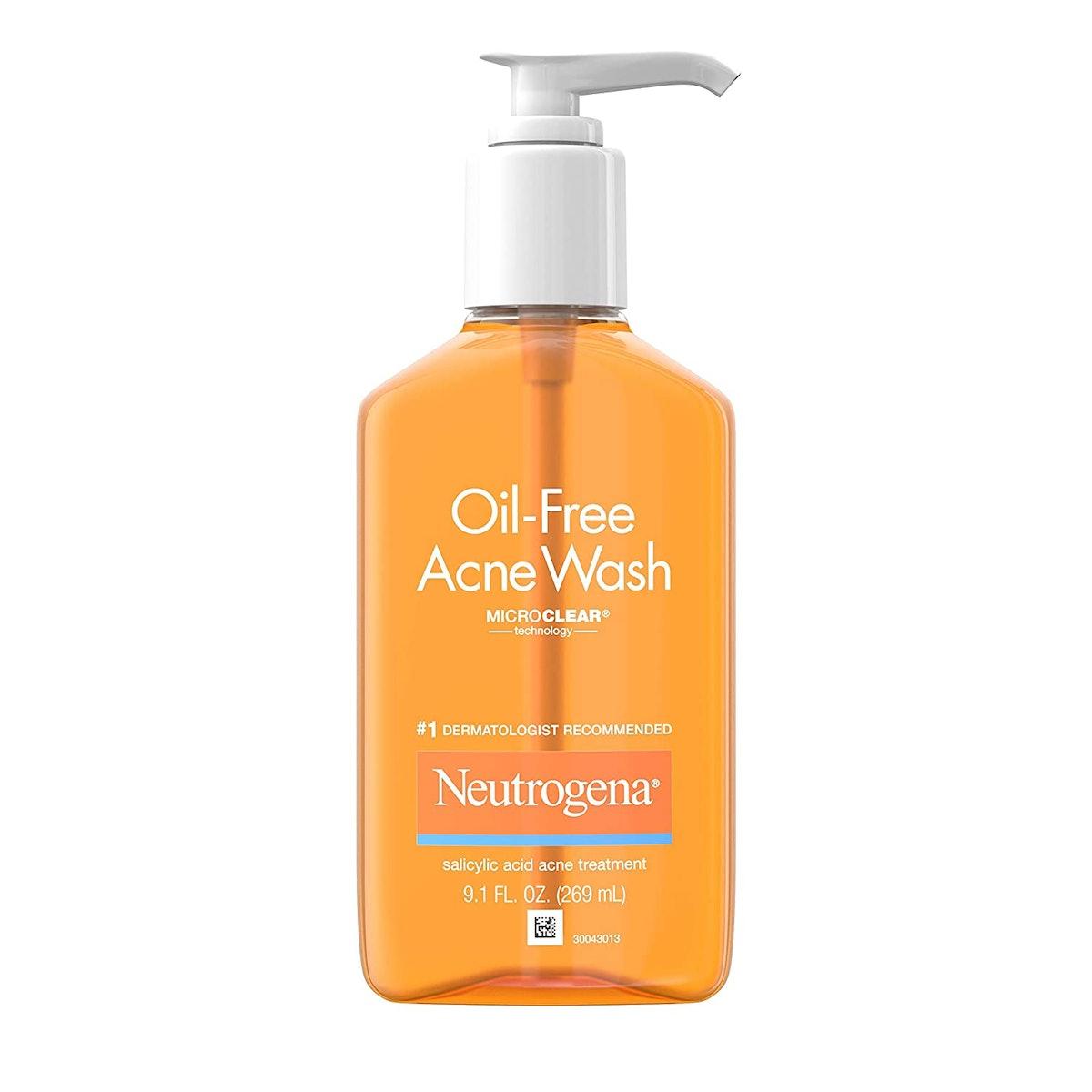 Neutrogena Oil-Free Acne Wash (3-Pack)
