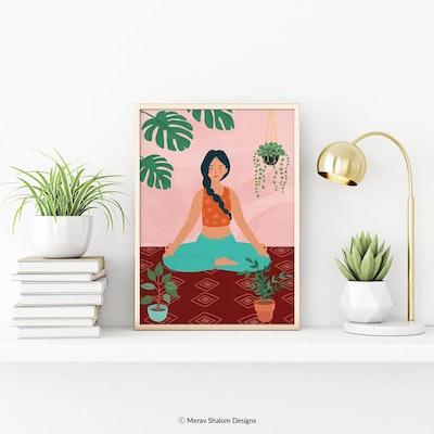 Printable Yoga Art