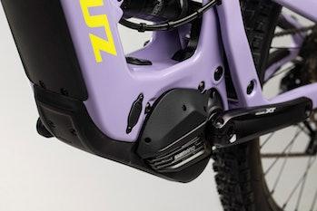 Shimano's EP8 mid-drive motor on the Santa Cruz Bullit MX.