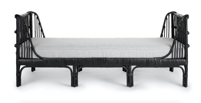 Sol Belgian Gray Daybed