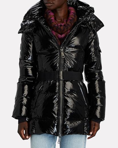 Soho Belted Puffer Jacket