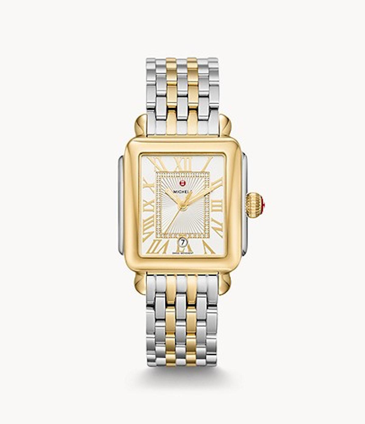 Deco Madison Two-Tone, Diamond Dial Watch