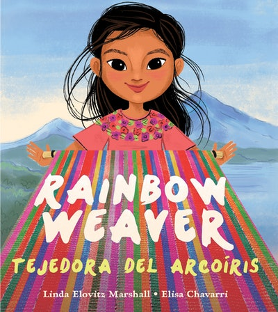 Rainbow Weaver/Tejedora del Arcoíris by Linda Elovitz Marshall