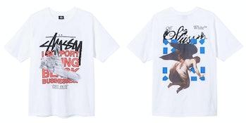 Virgil Abloh Off-White Stüssy 40th Anniversary T-shirt