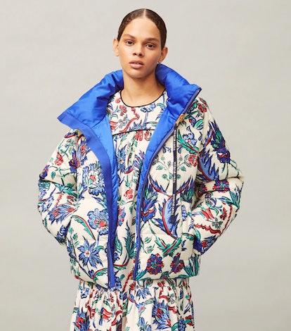 Reversible Printed Puffer Jacket