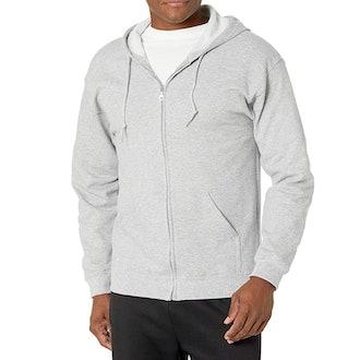 Gildan Fleece Zip Hooded Sweatshirt