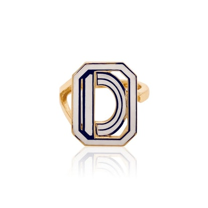 Gatsby Initial Ring