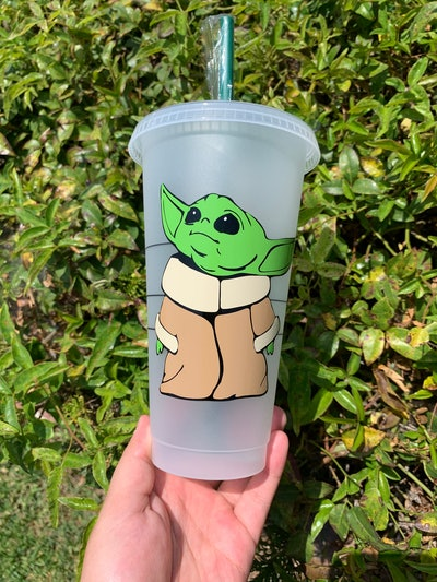 The Child Themed Starbucks Color Changing Cup