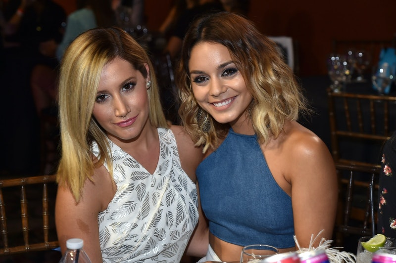 "Vanessa Hudgens says she wants to be the ""fairy godmother"" to Ashley Tisdale's baby"