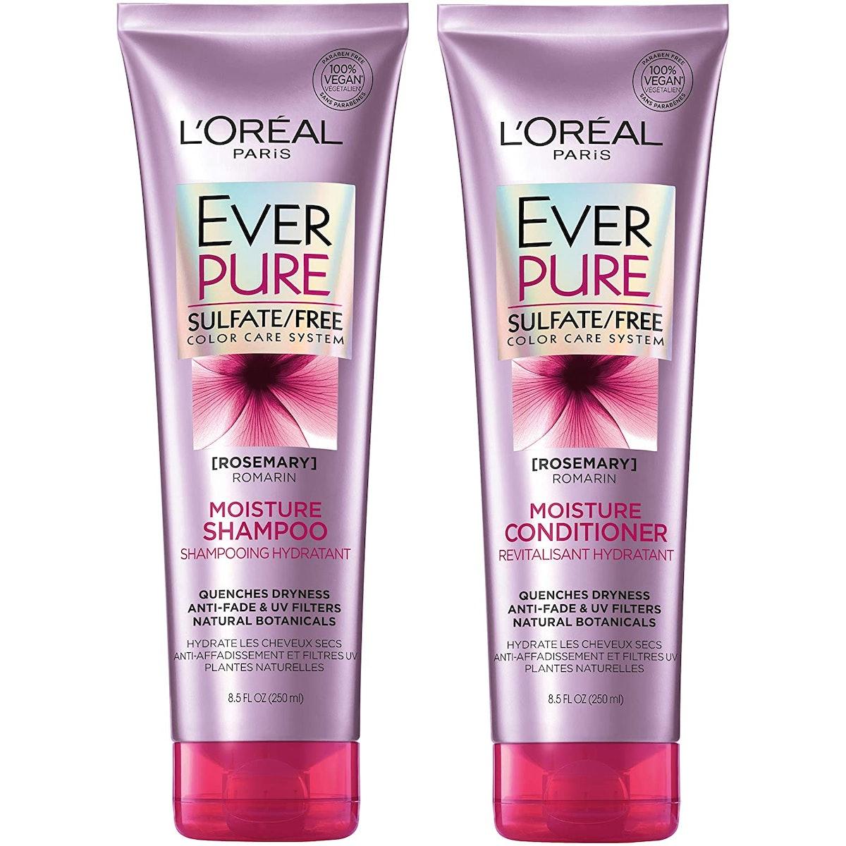 L'Oreal Paris EverPure Moisture Shampoo & Conditioner