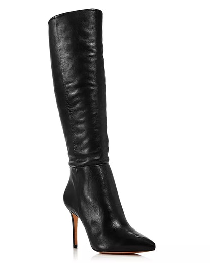 Women's Magalli Pointed Toe Tall Leather Boots