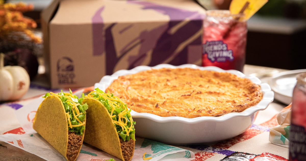 Taco Bell Released A Shepherd's Pie Recipe Made With TACOS To Live Más This Thanksgiving