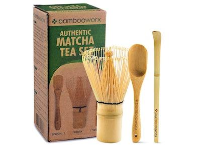 BambooWorx Matcha Tea Set
