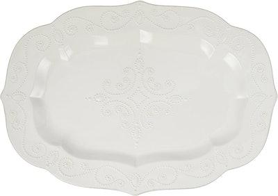 Lenox French Perle Large Serving Platter